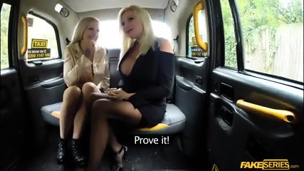 Busty babes Michelle Thorne and Sophie Anderson fucks the driver