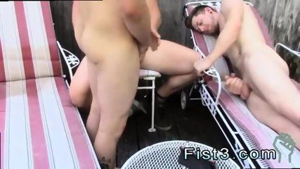 Gay guy crying while fisted luckily for him, he gets 2 deep inside him... at the same