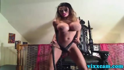 Busty Shows How Dominant She Can Be