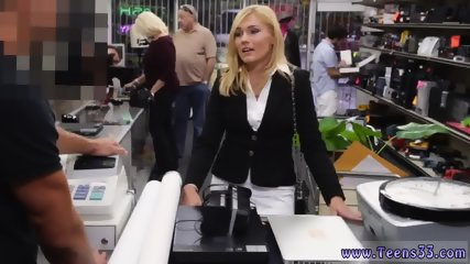 Public plane blowjob and big boobs swallow Hot Milf Banged At The PawnSHop