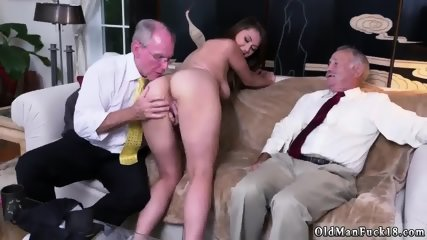 Princess old first time Ivy impresses with her phat orbs and ass