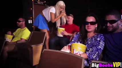 BigBoobsVIP – Busty gf Bridgette B horny at the movies