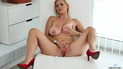 Busty MILF In Solo Action