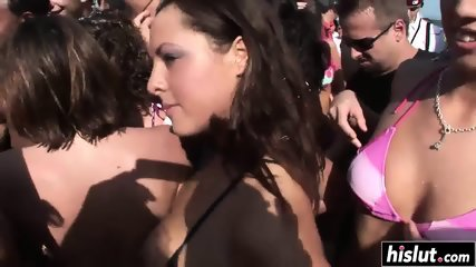 Party babes love to show off