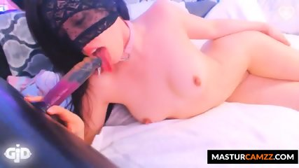 Hot Sexy Shaved Slut Has Huge Squirting Orgasm
