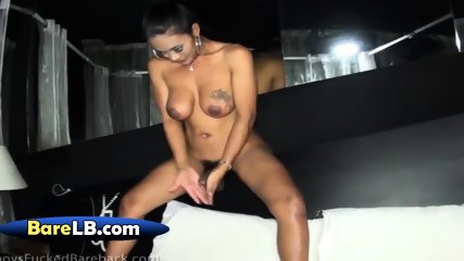 Busty chick with dick got nailed like an animal