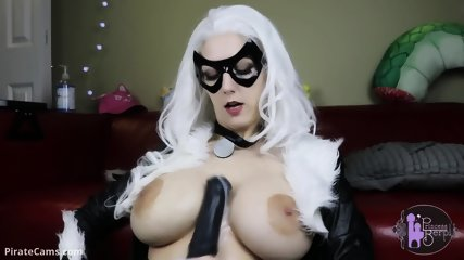 Cat Girl At Webcam Show