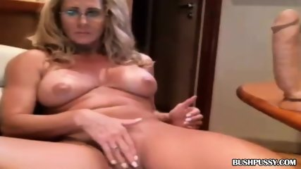 Small breasted dusty finger her hairy twat - 3 1