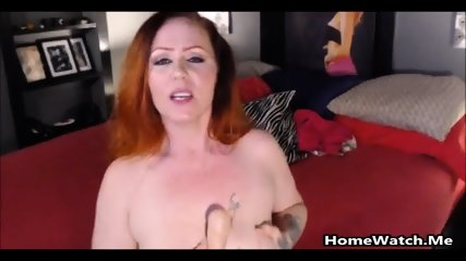 Dirty Big Titted Mom Squirting Over Some Huge Toys - scene 4