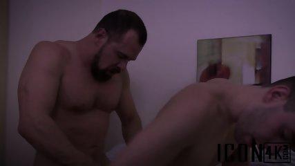 Kinky Gay Couple Enjoys A Late Night Barebacking Session