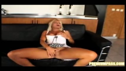 Tight Blond Nikki teases and blows - scene 8