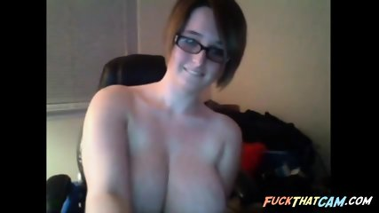 Nerdy Teen in Webcam - negrofloripa