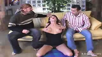 Slutty MILF riding two cocks - scene 7