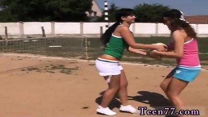 Lesbian piss slave and big teen fucked hard Sporty teenagers slurping