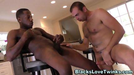 Convict Sucks Black Dong