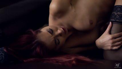 Creampie For Elegant Redhead - scene 6
