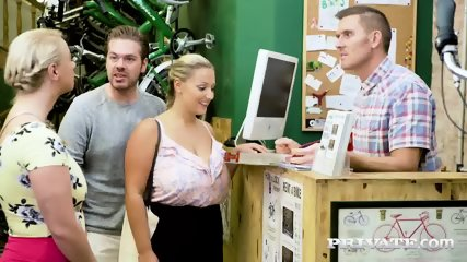 Private.com Curvy Busty Babes Let Loose In The Workshop - scene 3