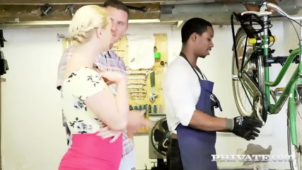 Private.com Curvy Busty Babes Let Loose In The Workshop - scene 5