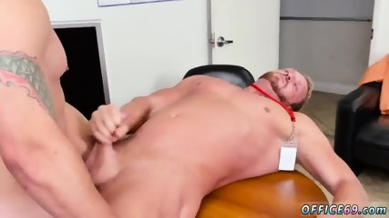Hunks studs models gay sex First day at work