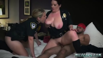 Amateur wife hardcore anal The Black Patrol girls in blue got a noise complaint call over