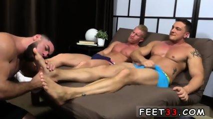 Euro naked gays sexy hairy legs feet Ricky Hypnotized To Worship Johnny & Joey
