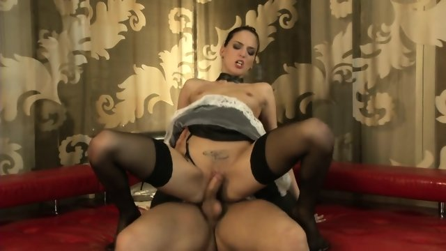 Horny Bitch With Stockings Needs Fantastic Sex