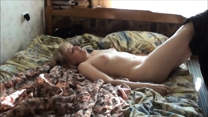 Love On Bed With Russian Teen Catherine - scene 1