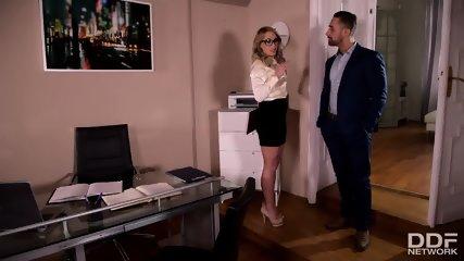 Secretary Fucked Like A Whore - scene 1