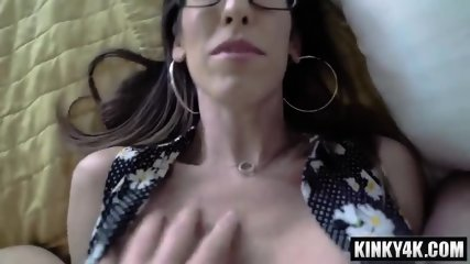 Hot milf domination with creampie