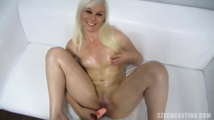Cute Blonde With Attractive Body