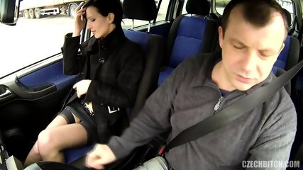 Hot Hitchhiker Banged In The Back Seat - scene 2