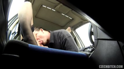 Hot Hitchhiker Banged In The Back Seat - scene 4