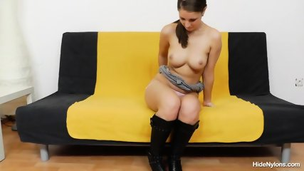 Nice Body Of Girl With Pantyhose - scene 5