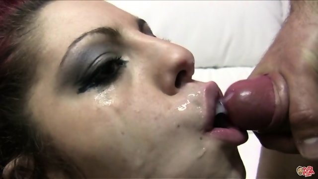 Cum Covered Face Of Dirty Slut