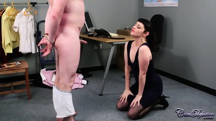 Cum On Face After Nice Handjob - scene 3