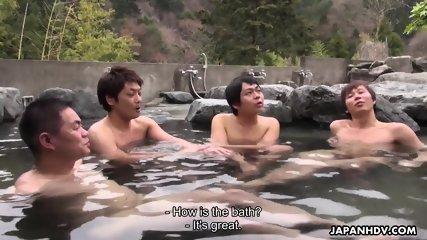 Orgy In Hot Springs - scene 1