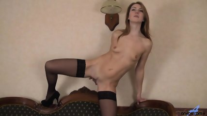Nice Cunt Of Lady With Stockings