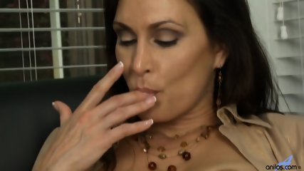 Horny Mommy Plays With Pussy - scene 8