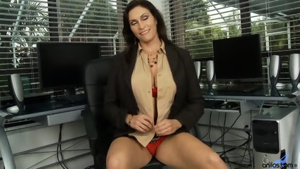 Horny Mommy Plays With Pussy - scene 1