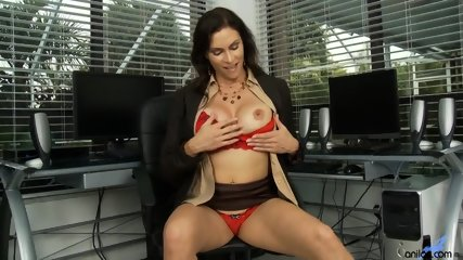 Horny Mommy Plays With Pussy - scene 2
