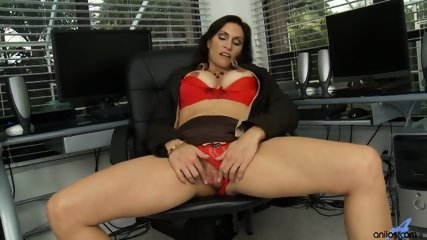 Horny Mommy Plays With Pussy - scene 3
