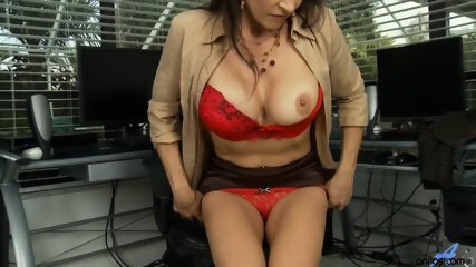 Horny Mommy Plays With Pussy - scene 7
