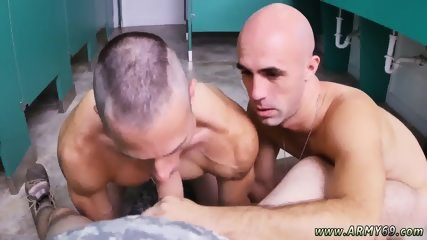 Army gay sex fuck bum and real nude dudes Good Anal Training
