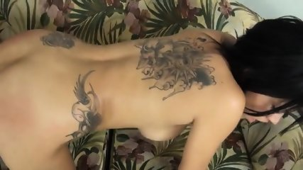 Girl With Tattoo Is Addicted To Rough Sex - scene 11