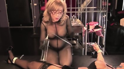 Sexperiments With Elegant Lady With Stockings - scene 3