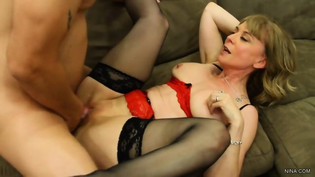 Penetration Of Blonde Whore With Stockings