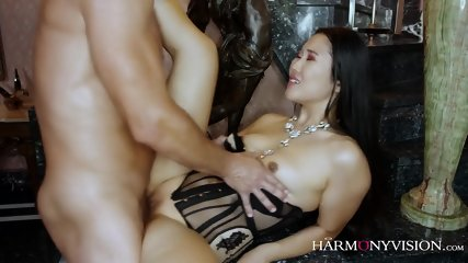 Sexy Asian Whore In Action