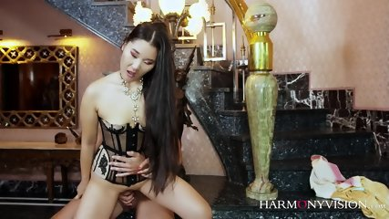 Sexy Asian Whore In Action - scene 5