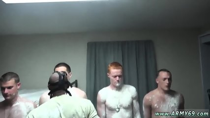 Navy muscle big cock gay The Hazing, The Showering and The Fucking
