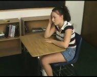 Schoolgirl gets fucked by her Teacher - scene 1